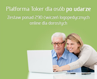 Platforma Toker dla osób po udarze. Zestaw ponad 240 ćwiczeń logopedycznych online dla dorosłych